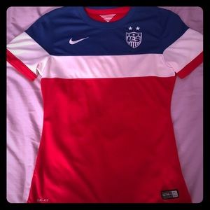 US Soccer 2014 Jersey